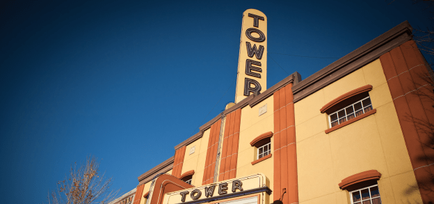 Tower Theater outside