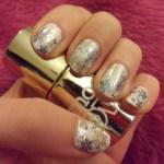 Snowflake Nail Stamping