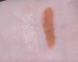 Rosie for Autograph Highlight and Bronze Stick Swatches