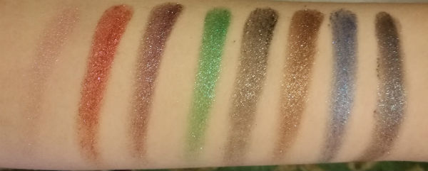 Moondust Swatches