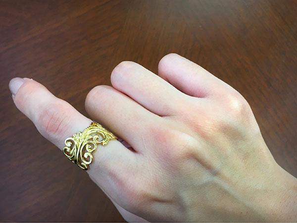 指輪リング指着ける場所意味2