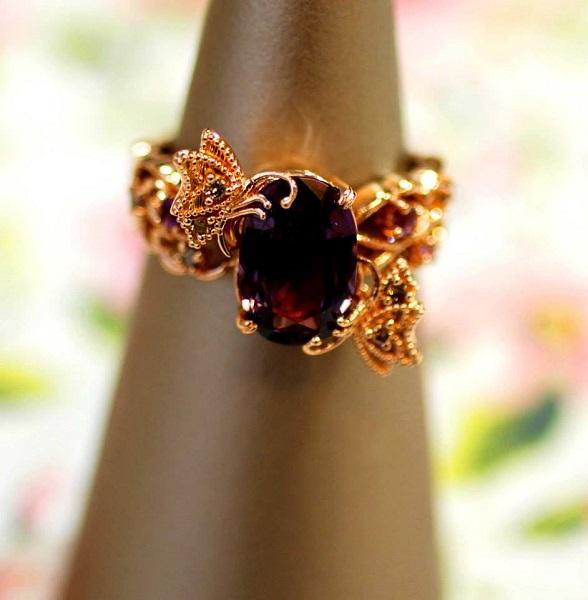 【カスタマイズ例】蝶のモティーフでフルオーダーのリングを作る。