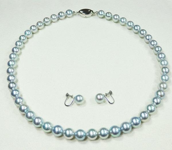 弔事装い正しい真珠1