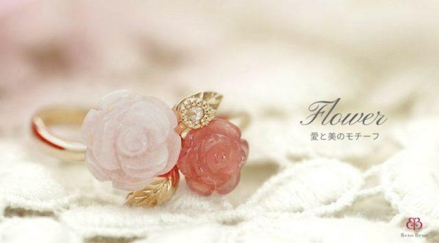 【花(フラワー) 】モチーフの意味とは?由来や歴史など|ベーネベーネ