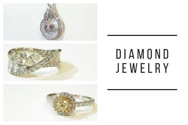 夏の日差しを受けて燦然と輝くダイヤモンドジュエリーフェア開催です。