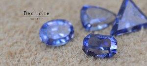 """甲府ショップでもご覧いただけます。煌めきに満ちた極上のブルー。  奇跡の宝石""""ベニトアイト"""""""