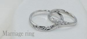 Bene Bene Engagement Jewelry~無機質なメタルが生命を帯びる~