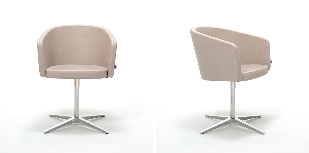office club chairs zero g chair human touch bene furniture with swivel base
