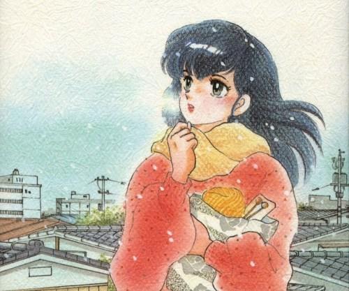 Kyoko Otonashi winter snow