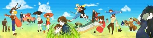 Miyazaki characters films