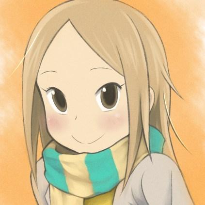 Usagi Drop scarf