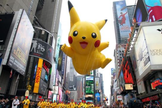 Macy's Thanksgiving Day Parade Pikachu