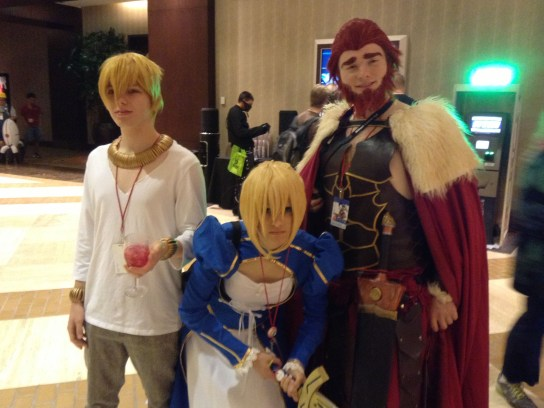 A-Kon cosplay Fate/zero Saber