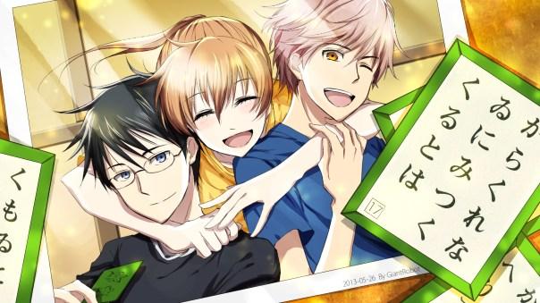 Chihaya, Wataya, and Taichi