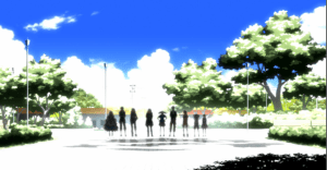 If you have any doubts about Hiyori, she's on the far right. And they aren't all dead, either, as some people think, or Marry wouldn't be with them.