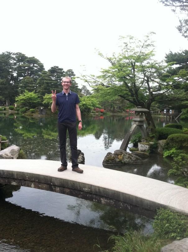 Kenrokuen, probably the most famous tourist spot in Kanazawa!