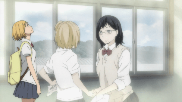 Yachi reflects on how Kiyoko asked her to join.