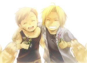 elric brothers young