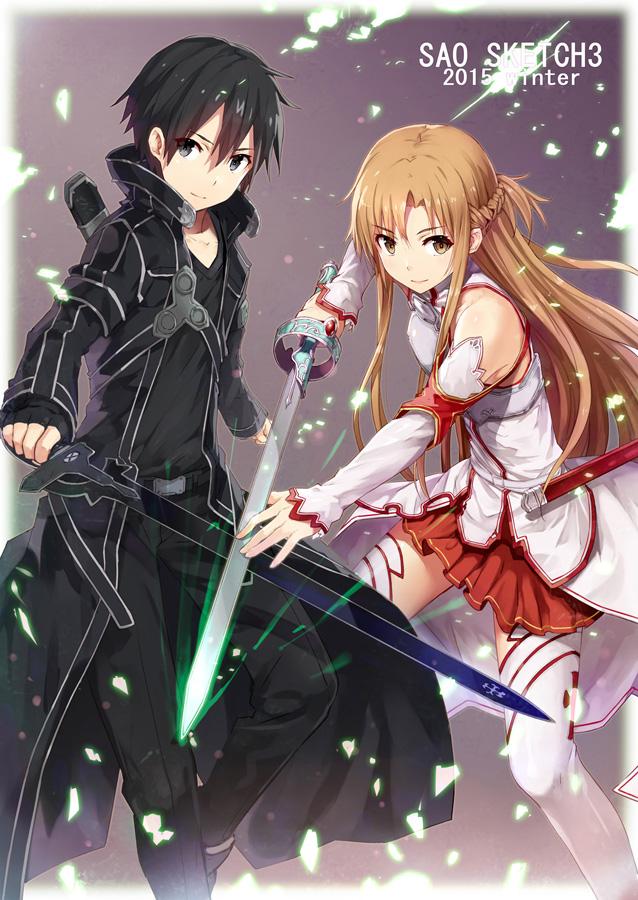 kirito and asuna sao