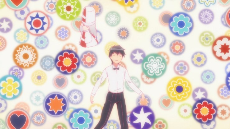 Higashina hovers at the edge of death with St. Valentine. (ep 4)