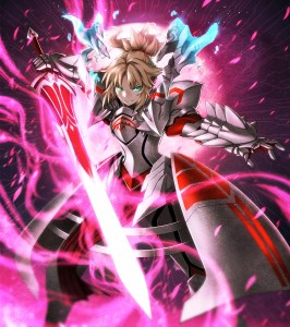 saber of the red