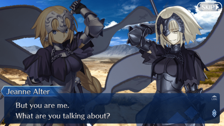 jeanne and jeanne alter fate/grand order