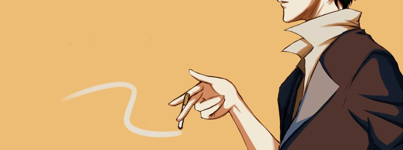 spike spiegel smoking