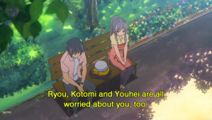 Kyou and Tomoya