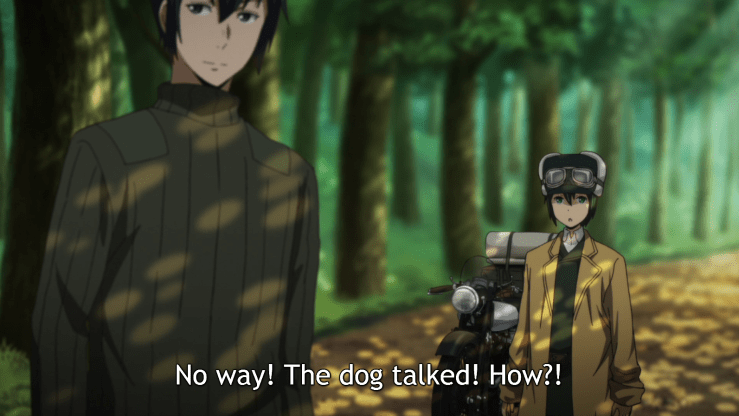 kino's journey riku