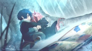 little 002 and hiro zero two young