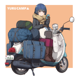 rin shima laid-back camp