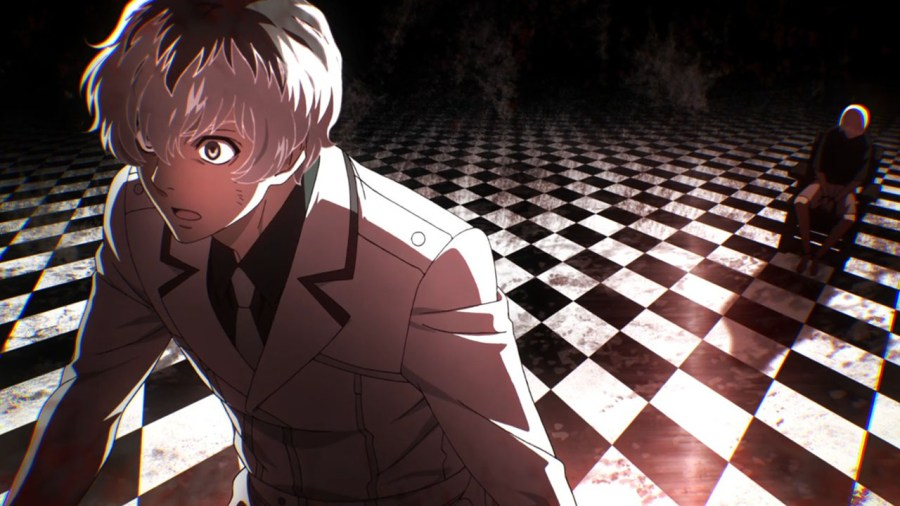 Haise, haunted by Kaneki.