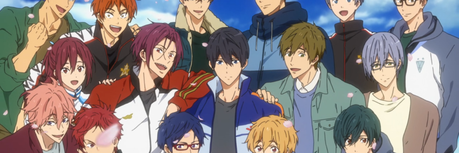 Free! Dive to the Future group shot