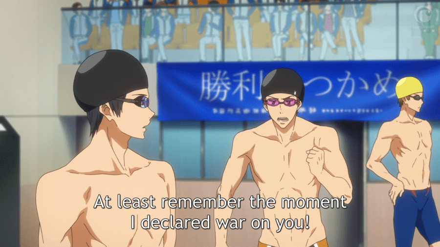 Asahi declares war on Haru.