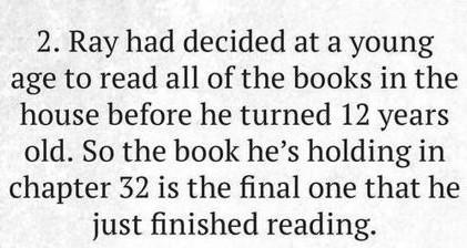 Ray's books