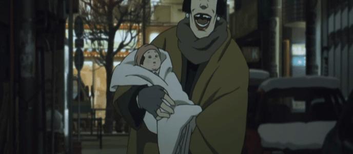 Tokyo Godfathers - Hana with Kiyoko