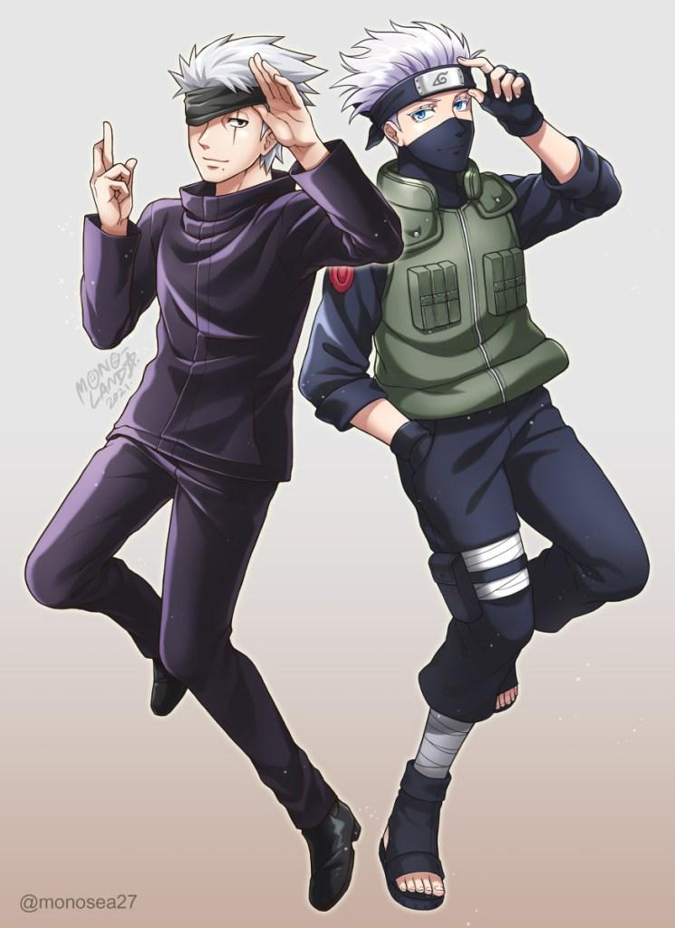 gojo and kakashi