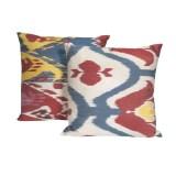 Ikat Silk Pillows