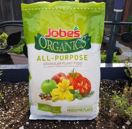 The Witches Garden: Part Three - a bag of organic all purpose fertilizer