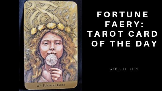 Fortune Faery Tarot Card