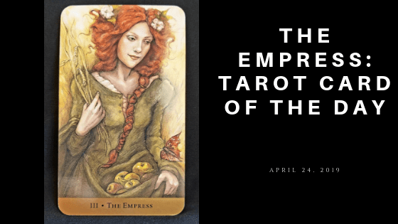 The Empress Tarot Card form Hidden Realms
