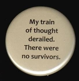 Train of Thought button
