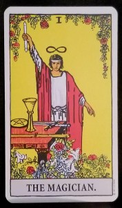 Finding Your Magickal Niche  - the Magician from the Rider Waite Tarot Deck