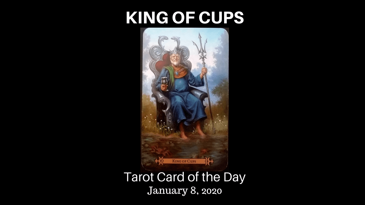 King Of Cups Tarot Card Of The Day Beneath The Triune Moon We are a group of spiritual/metaphysical innovators who are committed to the expansion of consciousness for the good of cancer (kapanganakan: king of cups tarot card of the day