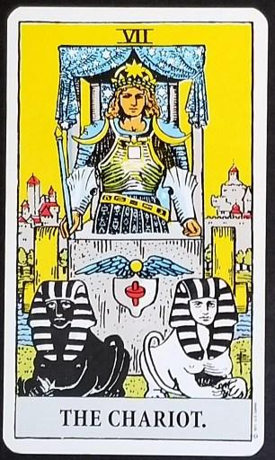 The Chariot- Tarot Card