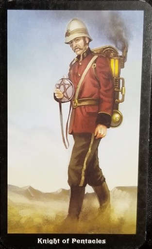 Weekly Tarot Reading - Knight of Pentacles
