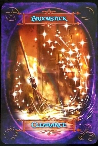 Weekly Oracle Reading - Broomstick