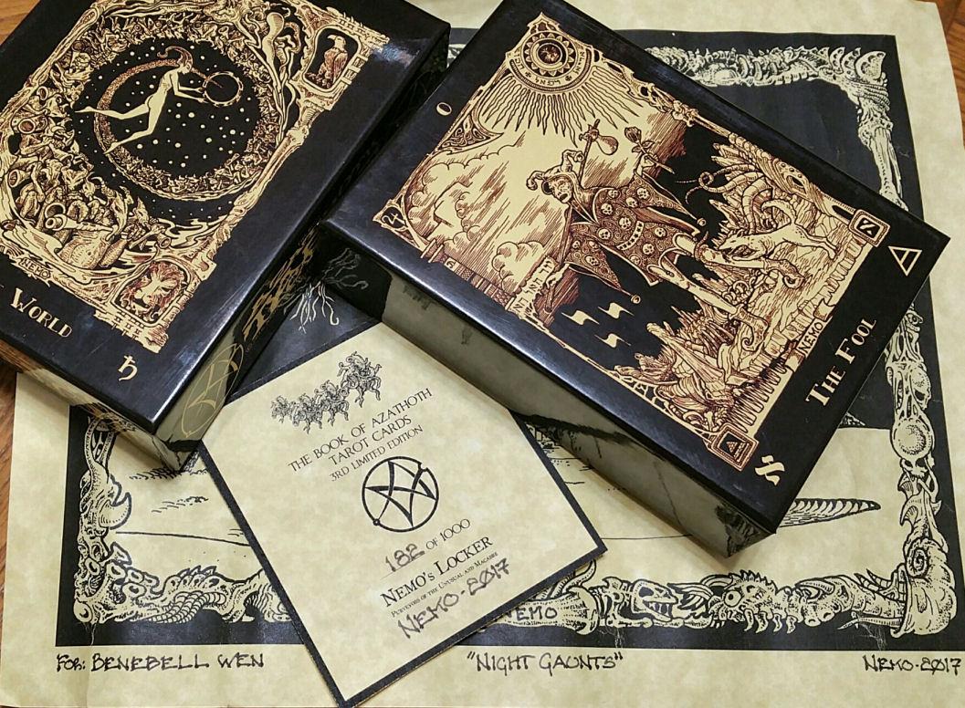 Book Of Azathoth Tarot By Nemo Benebell Wen