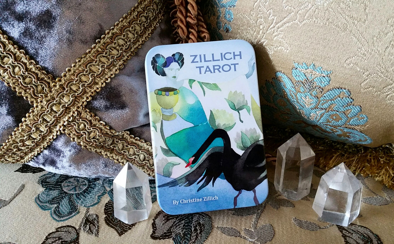 Zillich Tarot By Christine Zillich A Thoth Inspired Watercolor Deck Benebell Wen