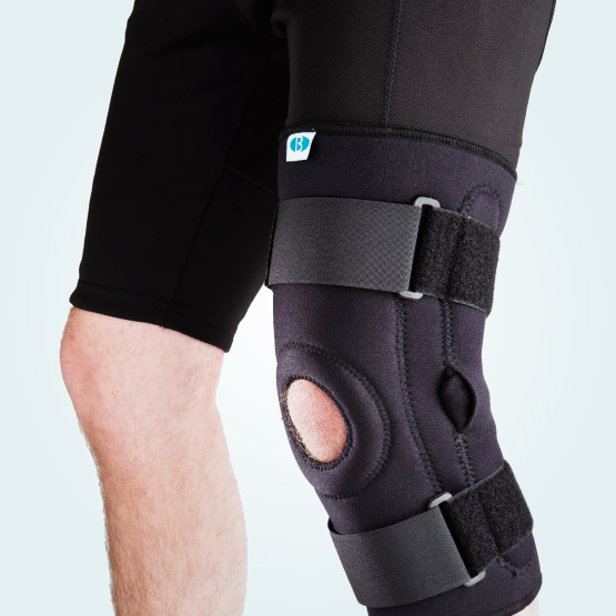 The BeneCare Hinged Knee Stabiliser